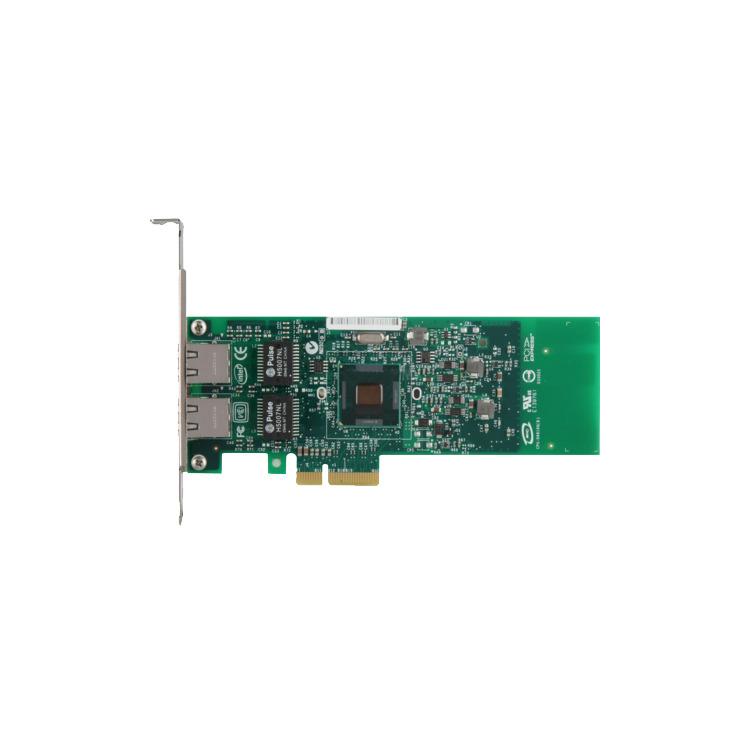 Intel Gigabit ET Dual Port Server Adapter - Network adapter - PCI Express 2.0 x4 low profile - Gigabit Ethernet x 2