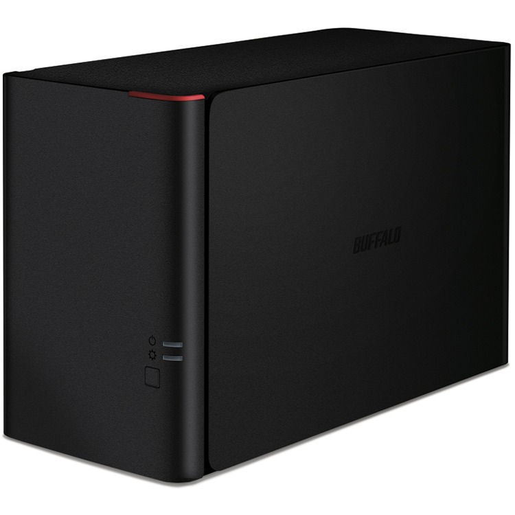 LinkStation 420 NAS 8TB High Speed NAS 2x 4TB HDD 1x Gigabit RAID 0/1