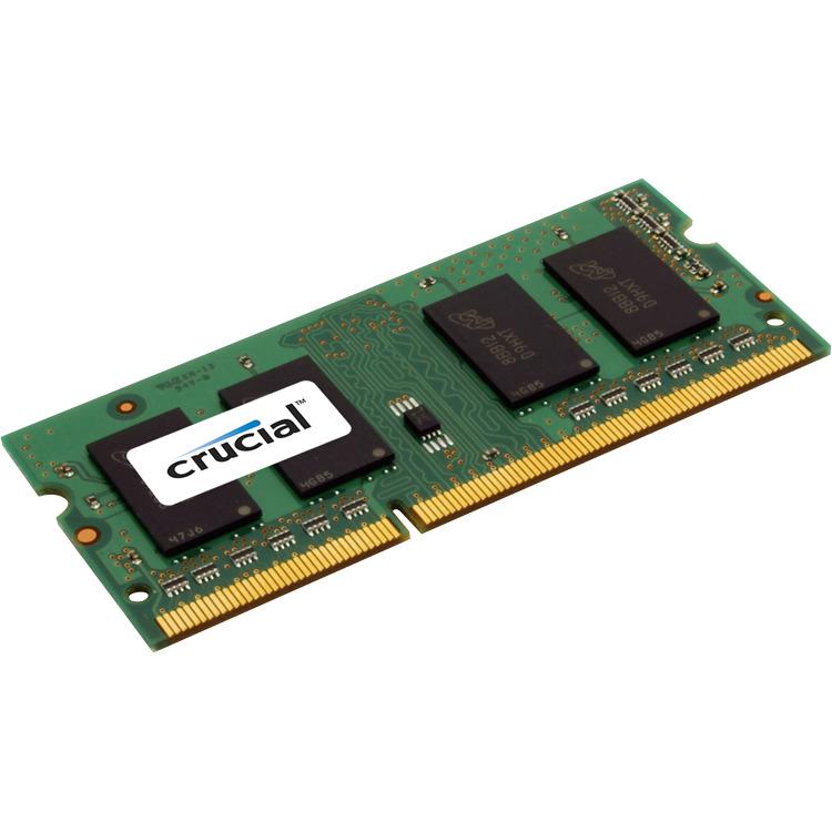 4GB DDR3 1600 MT/s (PC3-12800) CL11 SODIMM 204pin 1.35V/1.5V Single Ranked