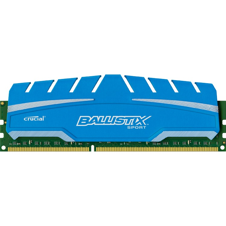 8GB DDR3 1600 MT/s (PC3-12800) CL9 @1.5V Ballistix Sport XT UDIMM 240pin