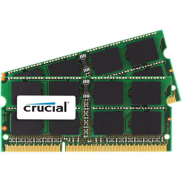 Crucial 8GB (4GBx2) PC3-12800