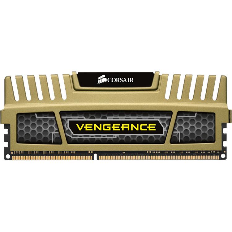DDR3 1600 8GB 2x240 Dimm Unbuffered 9-9-9-24 Vengeance Green Heatspreader BlackPCB Core i7 Core i5 and Core 2/AMD Phenom II - Dual Channel 1.5V