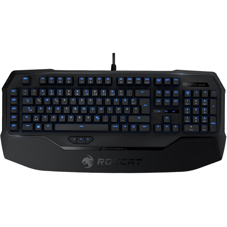 Roccat Ryos MK Pro MX Qwerty Gaming Toetsenbord - Rood (PC)
