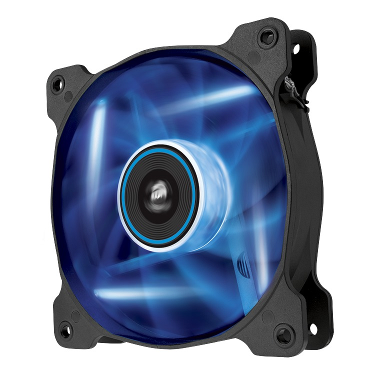 Image of AF120 Quiet Edition blue LED fan