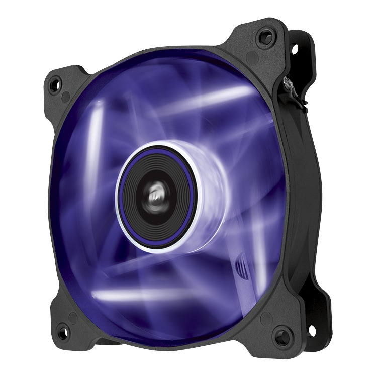 Image of AF120 Quiet Edition purple LED fan