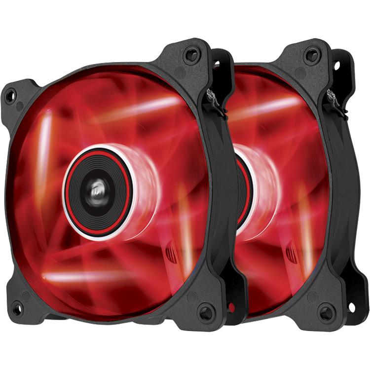 Corsair LED Fan AF120-LED Red Dual Pack