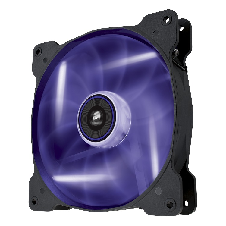 Image of AF140 Quiet Edition purple LED fan