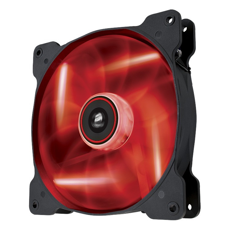 Image of AF140 Quiet Edition red LED fan