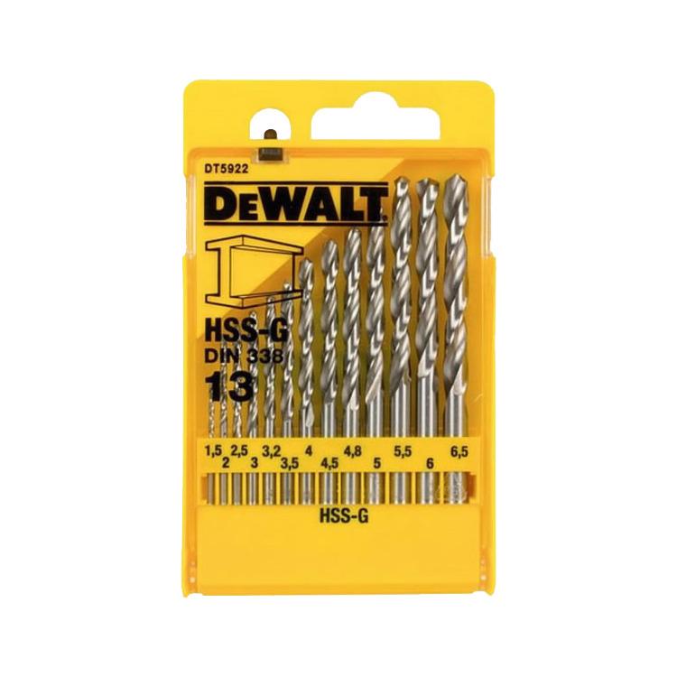 13-delige HSS-G DIN 338 Metaalboorcassette