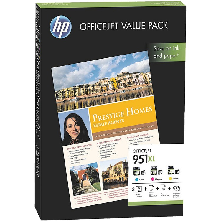 HP 951XL Value Pack Inkt Cartridges