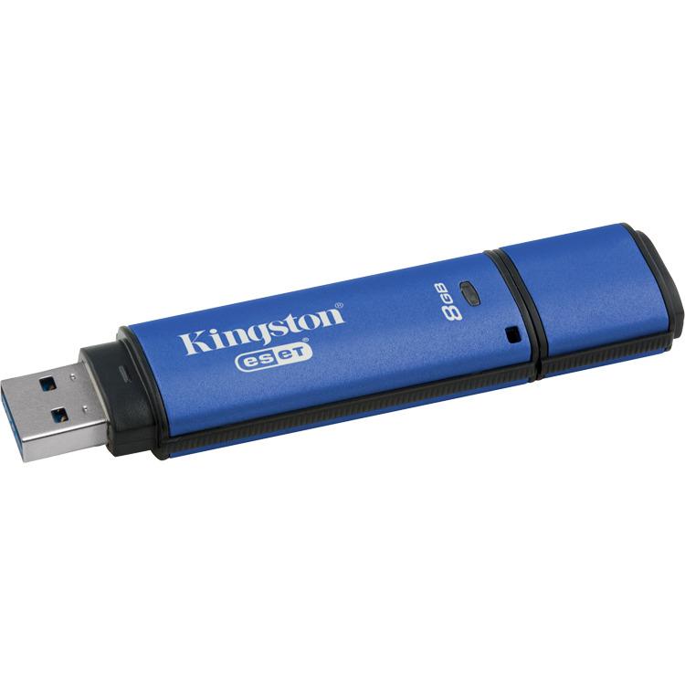 DataTraveler Vault Privacy Anti-Virus 8 GB USB 3.0