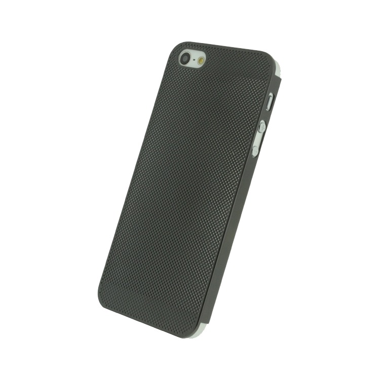 Cover Metal Air Black voor Apple iPhone 5