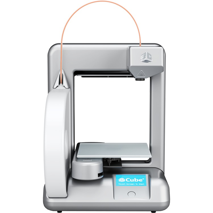 3D Systems Cube 3D-printer Zilver