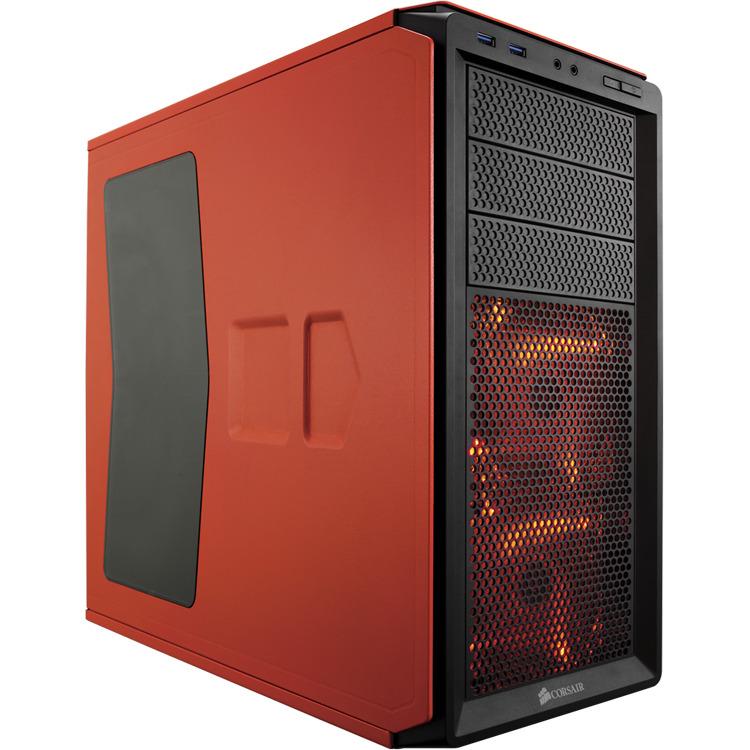 Corsair Graphite 230T Window Oranje