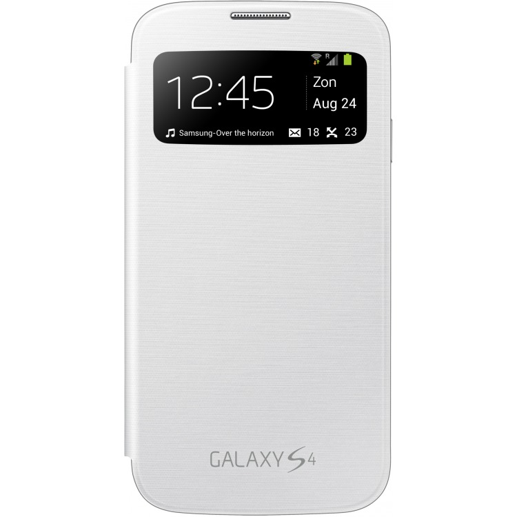 Galaxy S4 S View cover white