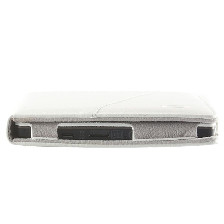 Odyssey Covers Luxe Beschermhoes voor Kobo Aura - Wit