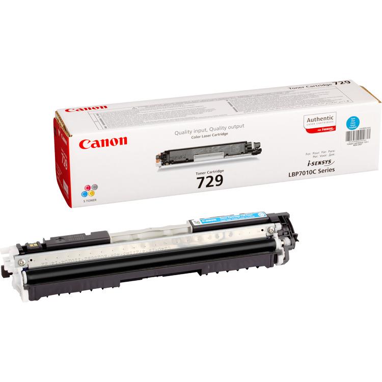 Canon 729-C Cyan Toner
