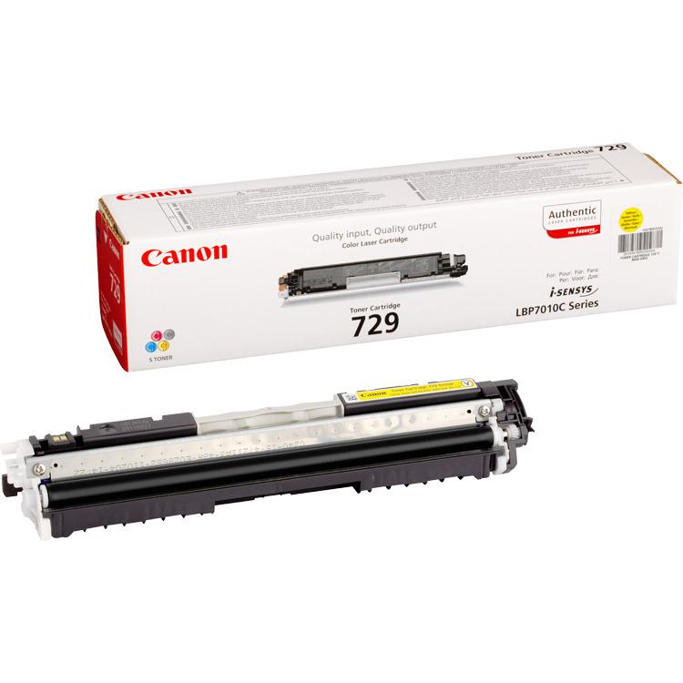 Canon 729-Y Geel Toner