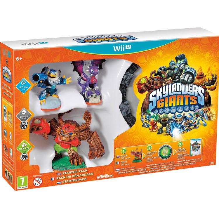 Wii U Skylanders Giants: Starterpack