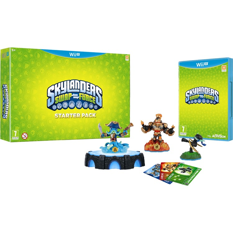 Wii U Skylanders: Swap Force Pack