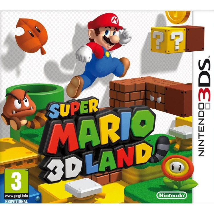 Game, 3DS, Super Mario 3D Land