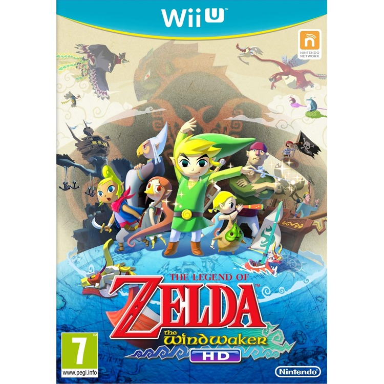 WII U Game Legend of Zelda, The Wind Waker HD