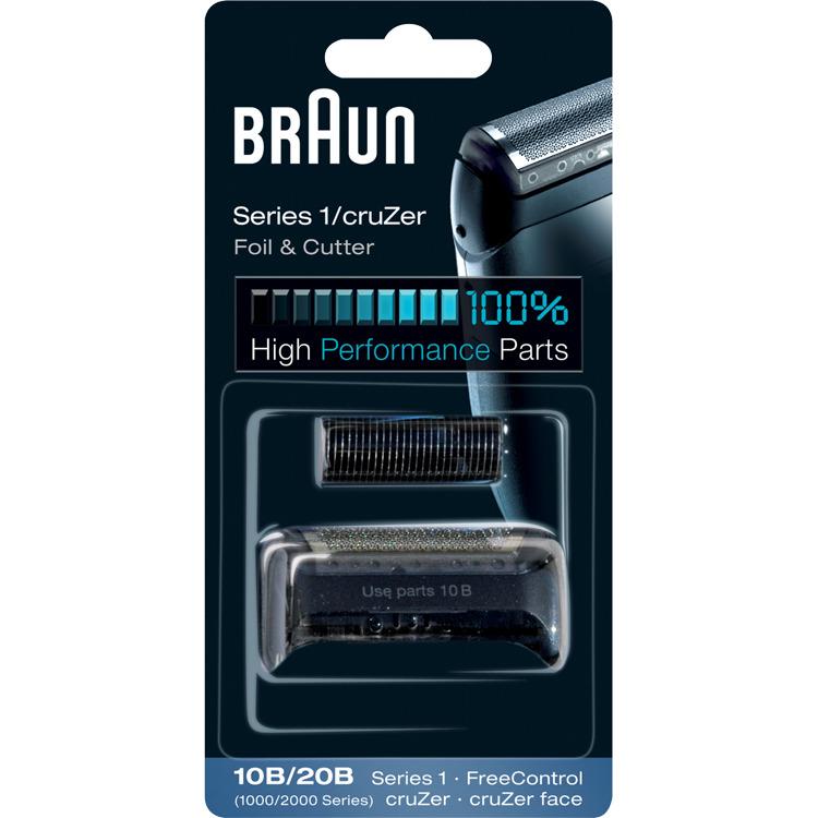 BRAUN Scheerkop combi-pack 10B