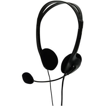 Image of Basicxl Bxl-headset1 bl Stereo Headset Zwart