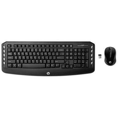 Image of HP Desktopset Wireless Classic (zwart)