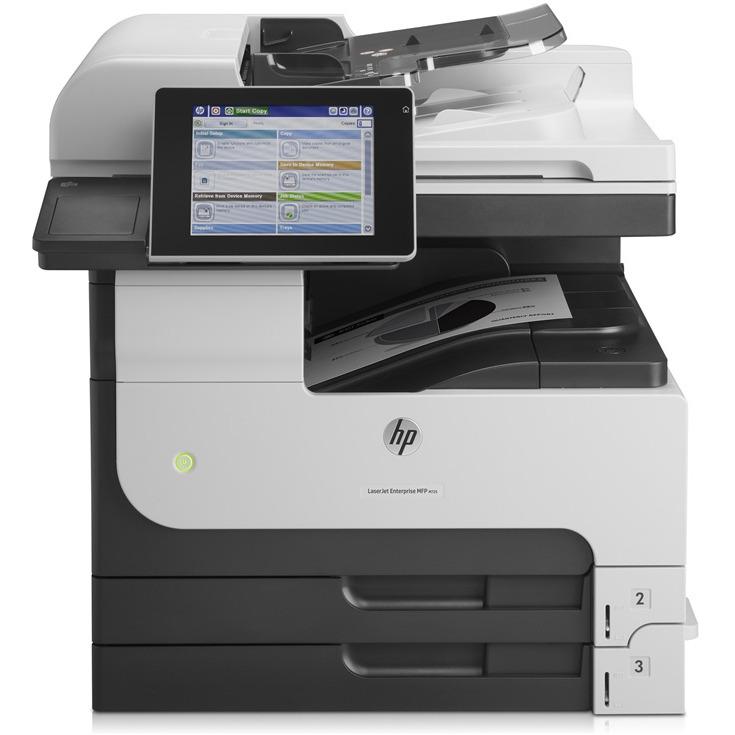 Multifunctional HP LaserJet Enterprise MFP M725dn