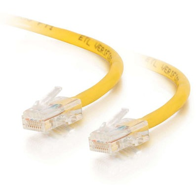 C2G - 350MHz Non-Booted Patch Kabel - Cat.5e / 1.5 meter / Geel