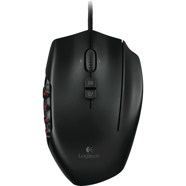 G600 MMO Gaming Black