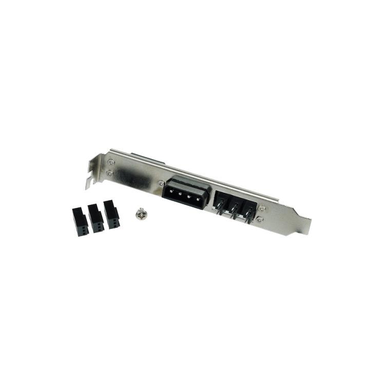 Adapter 4-Pin Molex & 3x 3-Pin Koeler bracket