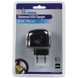 Veripart Thuislader Adapter USB Black