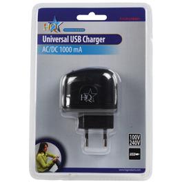 Universele USB lader 5 V 1000 mA