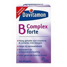 Image of Davitam B-complex Forte 100stuks