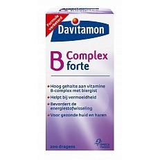 Image of Davitam B-complex Forte 200stuks