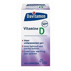 Image of Davitamon Vitamine D 50+ Tabletten 250tab