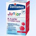Image of Davitam Junior 1+ Kauwvit Aardbei 120stuks