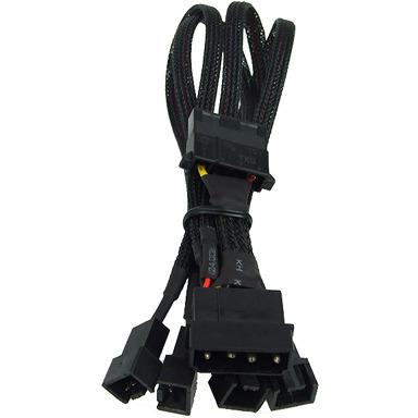 Adapter 4-Pin Molex > 4x 3-Pin Koeler 30cm