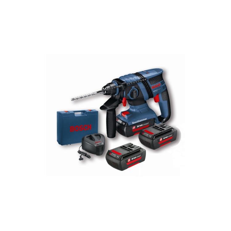 Bosch Boorhamer Gbh 36 V-Li Compact 2 X 1,3 Ah Li-Ion Lader Al 3640 Cv