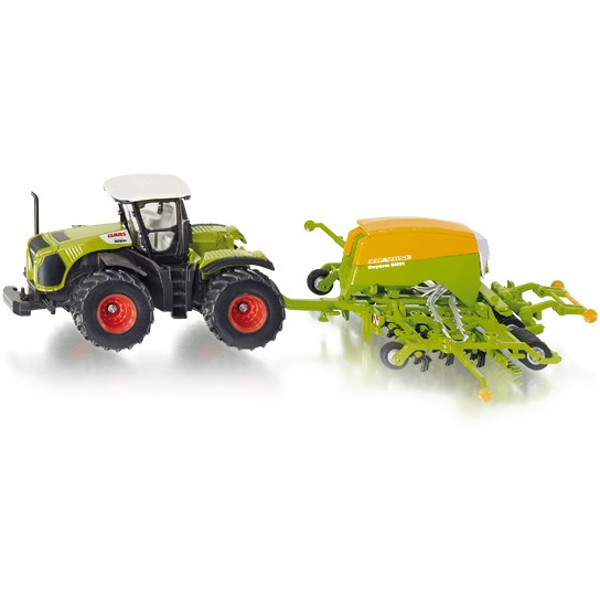 Siku Tractor Met Zaaimachine