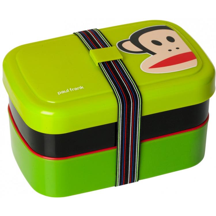 Paul Frank Lunchbox - Set van 3 stuks - Groen