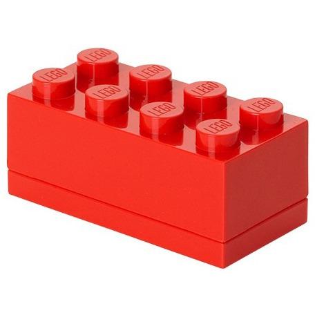 Lego Classic Lunchbox - Mini 8 - 4,6 x 9,2 x 4,3 cm - Rood