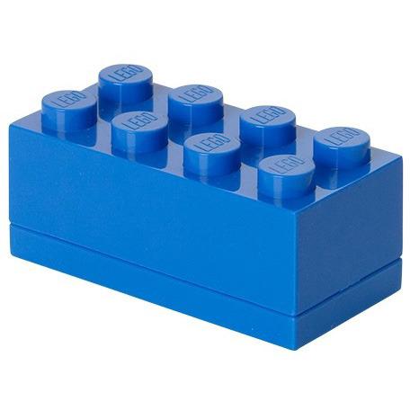 Lego Classic Lunchbox - Mini 8 - 4,6 x 9,2 x 4,3 cm - Blauw