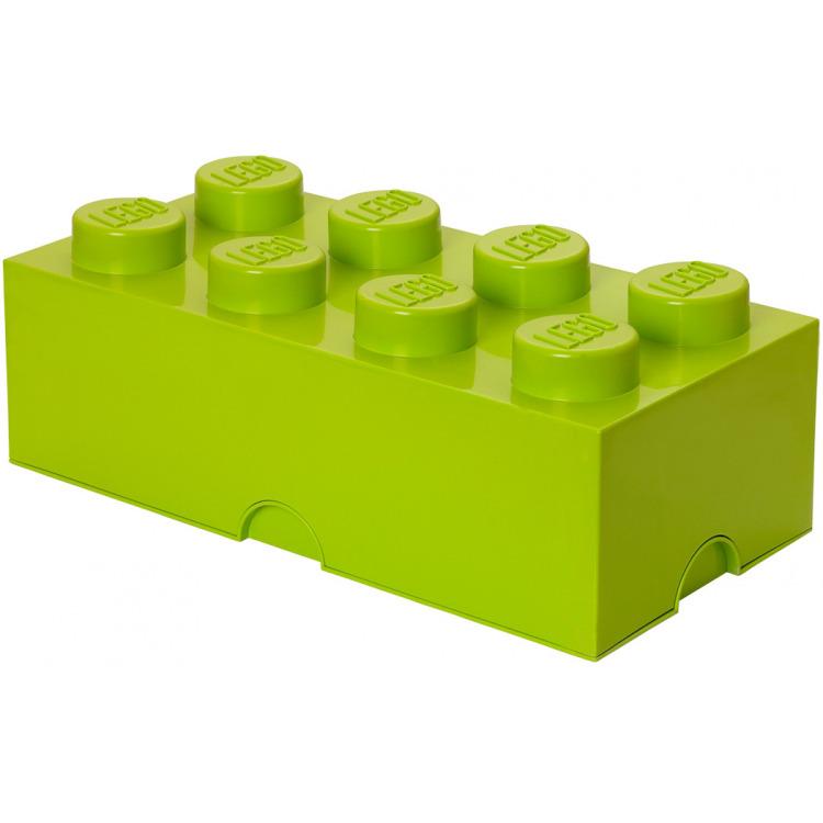 Lego Classic Lunchbox - Mini 8 - 4,6 x 9,2 x 4,3 cm - Limegroen