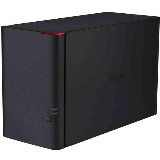 LinkStation 420 NAS 8TB High Speed NAS 2x 4TB HDD 1x Gigabit RAID 0/1