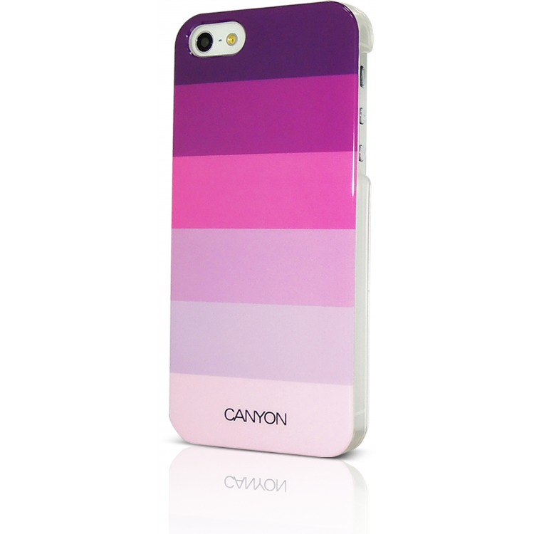 Image of Canyon Cna-i5c02p Iphone 5 Hard Cover Case met Stylus en Screen Protector Paarstinten