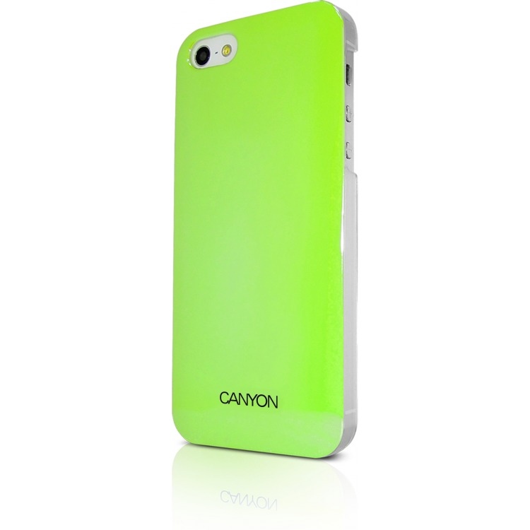 Image of Canyon Cna-i5c03g Iphone 5 Hard Cover Case met Stylus en Screen Protector Groentinten