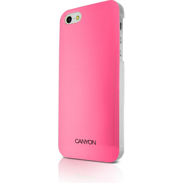 Image of Canyon Cna-i5c03p Iphone 5 Hard Cover Case met Stylus en Screen Protector Roze